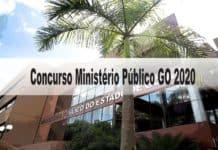 Concurso Ministério Público GO 2020