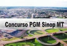 Concurso PGM Sinop MT