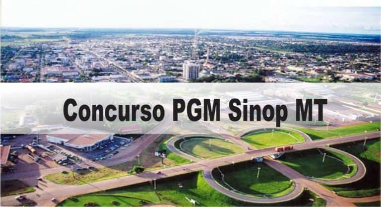 Concurso PGM Sinop MT: Saiu Edital com 4 vagas para Procurador!