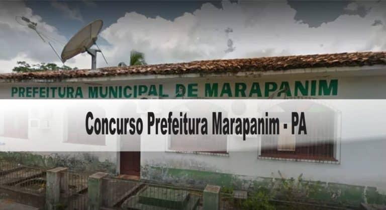 Concurso Prefeitura Marapanim-PA 2020: Inscrições encerradas