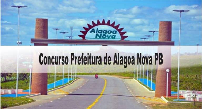 Concurso Prefeitura de Alagoa Nova PB