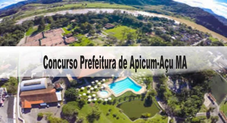 Concurso Prefeitura de Apicum-Açu MA: Suspenso