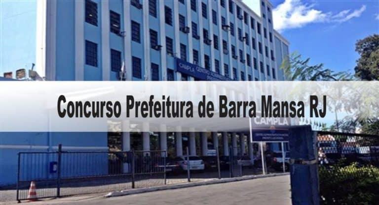 Concurso Prefeitura de Barra Mansa RJ