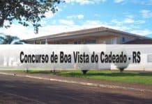Concurso Prefeitura de Boa Vista do Cadeado-RS