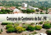 Concurso Prefeitura de Centenário do Sul-PR
