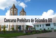 Concurso Prefeitura de Goiandira GO