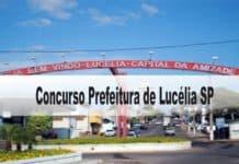 Concurso Prefeitura de Lucélia-SP