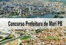 Concurso Prefeitura de Mari PB