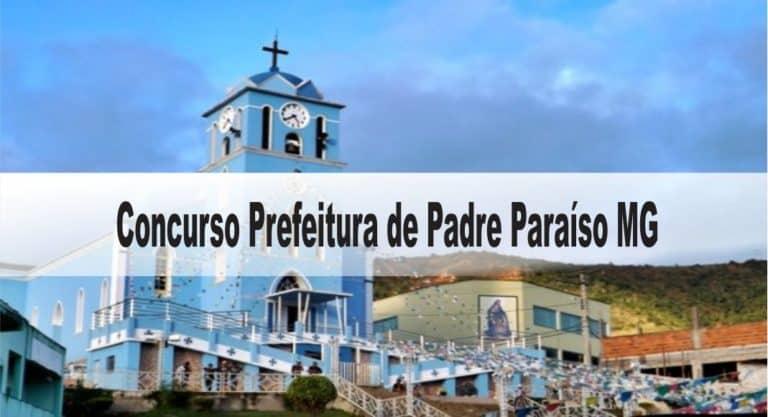 Concurso Prefeitura de Padre Paraíso MG