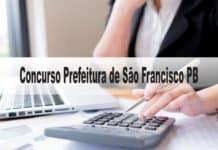 Concurso Prefeitura de São Francisco PB