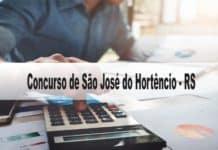 Concurso Prefeitura de São José do Hortêncio-RS 2020