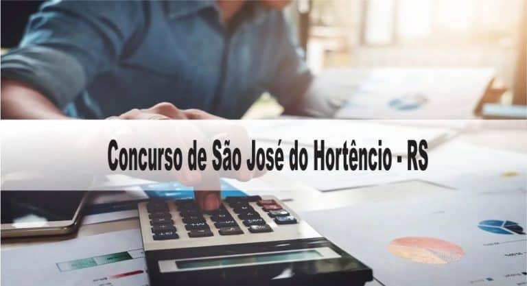 Concurso Prefeitura de São José do Hortêncio-RS: Provas suspensas