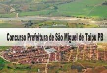 Concurso Prefeitura de São Miguel de Taipu PB
