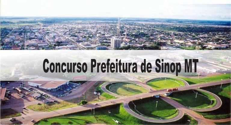 Concurso Prefeitura de Sinop MT