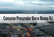 Concurso Procurador Barra Mansa RJ