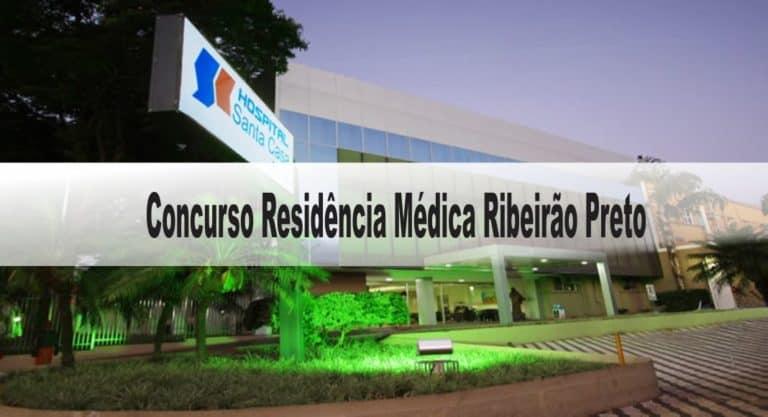 Concurso Residência Médica Ribeirão Preto SP: Provas previstas para o dia 06/12