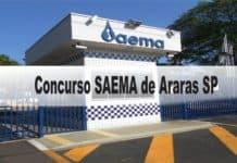 Concurso SAEMA de Araras SP