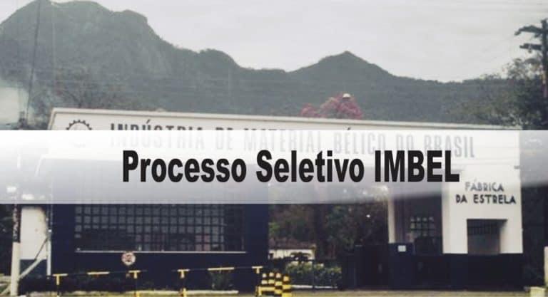 Processo Seletivo IMBEL: Inscrições encerradas
