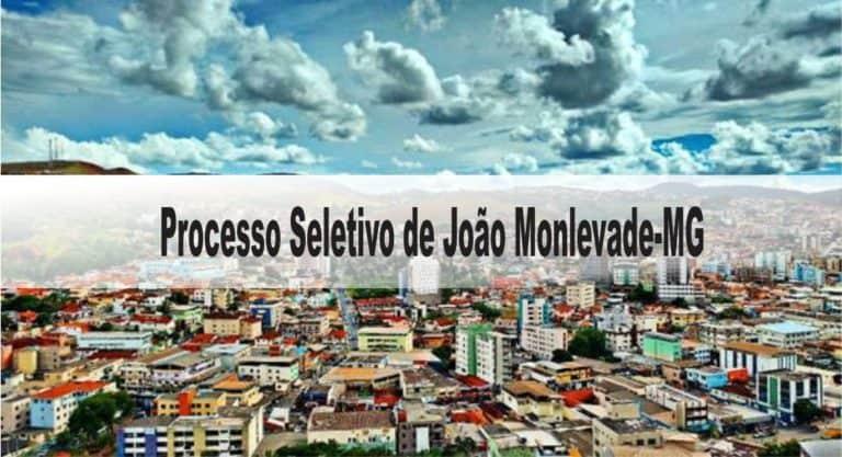 Processo Seletivo Prefeitura de João Monlevade-MG