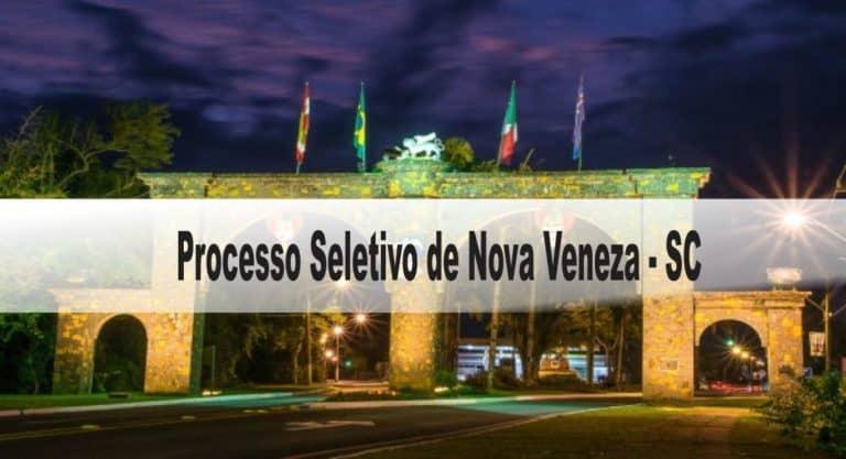 Processo Seletivo Prefeitura de Nova Veneza-SC