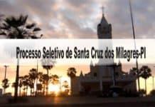 Processo Seletivo Prefeitura de Santa Cruz dos Milagres-PI