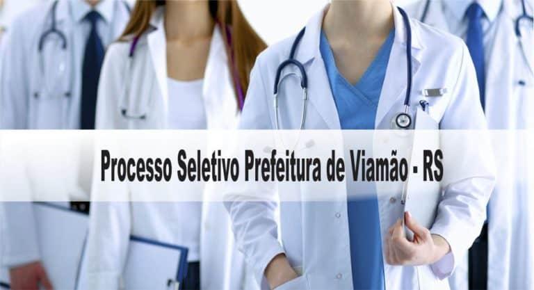 Processo Seletivo Prefeitura de Viamão RS: Inscrições encerradas