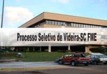 Processo Seletivo Prefeitura de Videira-SC FME