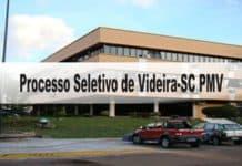Processo Seletivo Prefeitura de Videira-SC PMV