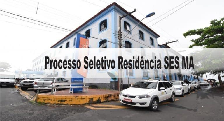 Processo Seletivo Residência SES MA: Inscrições abertas