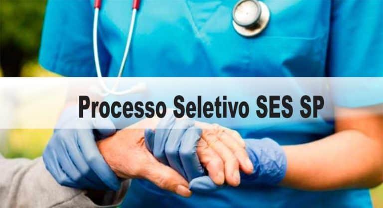 Processo Seletivo SES SP: Inscrições encerradas