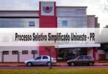 Processo Seletivo Simplificado Unioeste - PR