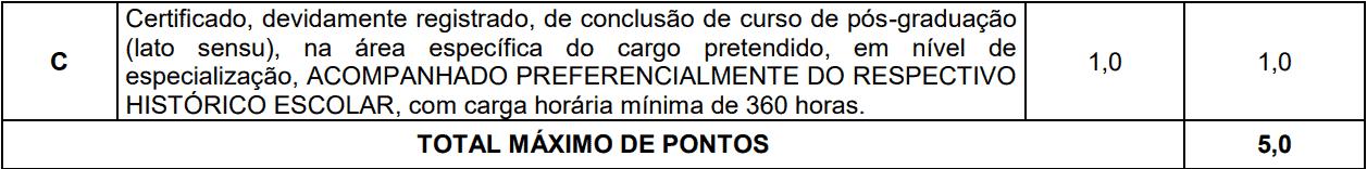 prova de titulos 1 41 - Concurso AMT de Ji-Paraná-RO 2020