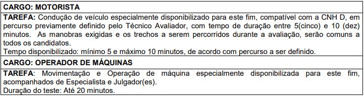 prova pratica 1 3 - Processo Seletivo Prefeitura de Prados MG: Inscrições abertas