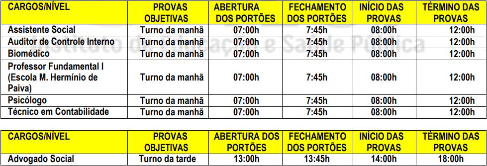 provas objetivas 1 106 - Concurso Prefeitura de Jataúba PE