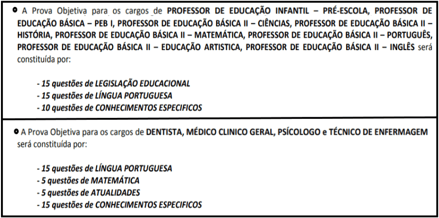 provas objetivas 1 107 - Concurso Cesário Lange-SP 2020: Inscrições abertas com 21 vagas para todos os níveis