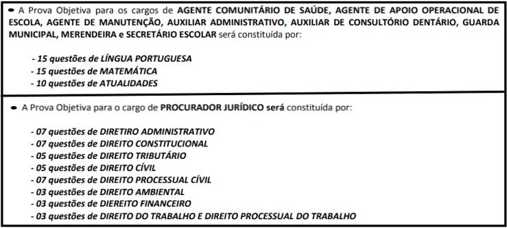 provas objetivas 1 108 - Concurso Cesário Lange-SP 2020: Inscrições abertas com 21 vagas para todos os níveis