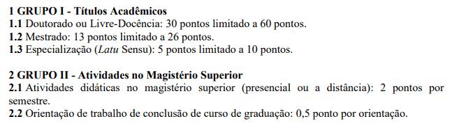 titulos 8 - Processo Seletivo UFFS: Inscrições encerradas