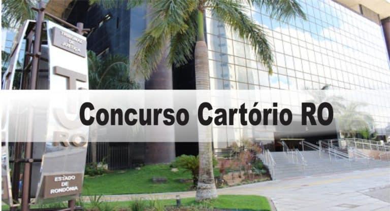 Concurso Cartório RO: Inscrições abertas com 19 vagas