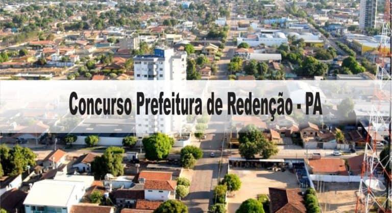 Concurso Prefeitura de Redenção-PA: Provas dias 31/01 e 07/02/21