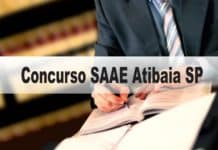 Concurso SAAE Atibaia SP