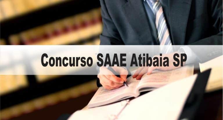 Concurso SAAE Atibaia SP para Advogado