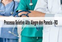 Processo Seletivo Alto Alegre dos Parecis-RO