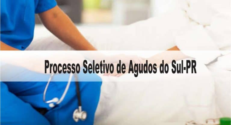Processo Seletivo Prefeitura de Agudos do Sul-PR: Inscrições encerradas