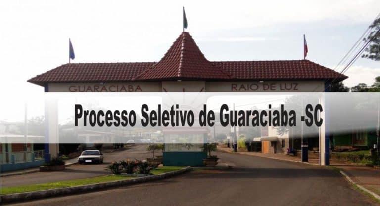 Processo Seletivo Prefeitura de Guaraciaba-SC