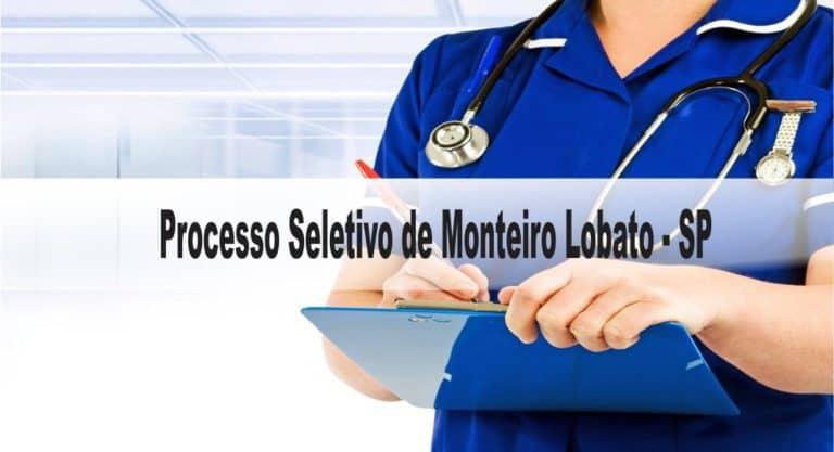 Processo Seletivo Prefeitura de Monteiro Lobato-SP