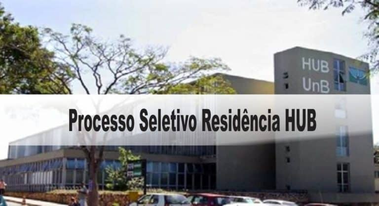 Processo Seletivo Residência HUB – 89 vagas