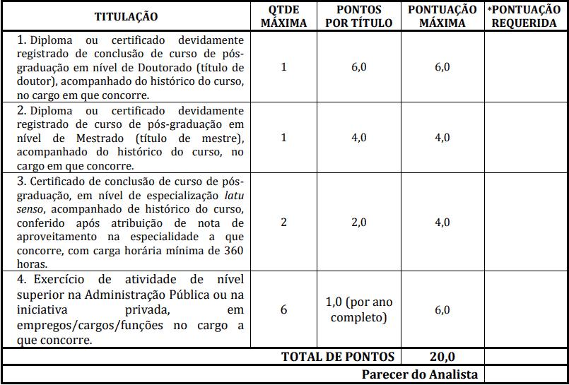 prova de titulos 1 8 - Concurso Prefeitura de Redenção-PA: Inscrições abertas