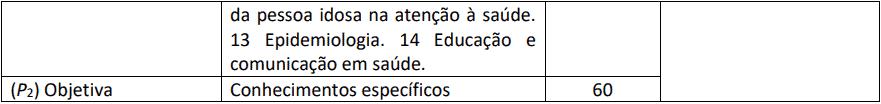 provas objetivas 1 42 - Processo Seletivo Residência HUB Multiprofissional - 27 vagas