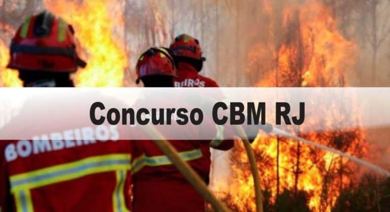 Concurso CBM RJ (25 vagas): Provas dia 10 de janeiro de 2021