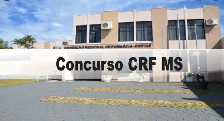 Concurso CRF MS: Provas previstas para o dia 24/01/21